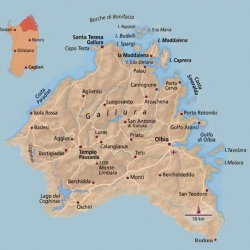 Sardegna Del Nord Cartina.Da Vedere In Gallura Petri Marini Hotel